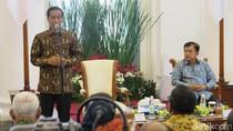Jokowi Rapat Bareng Pengusaha Bahas Serapan Anggaran Pemerintah Daerah