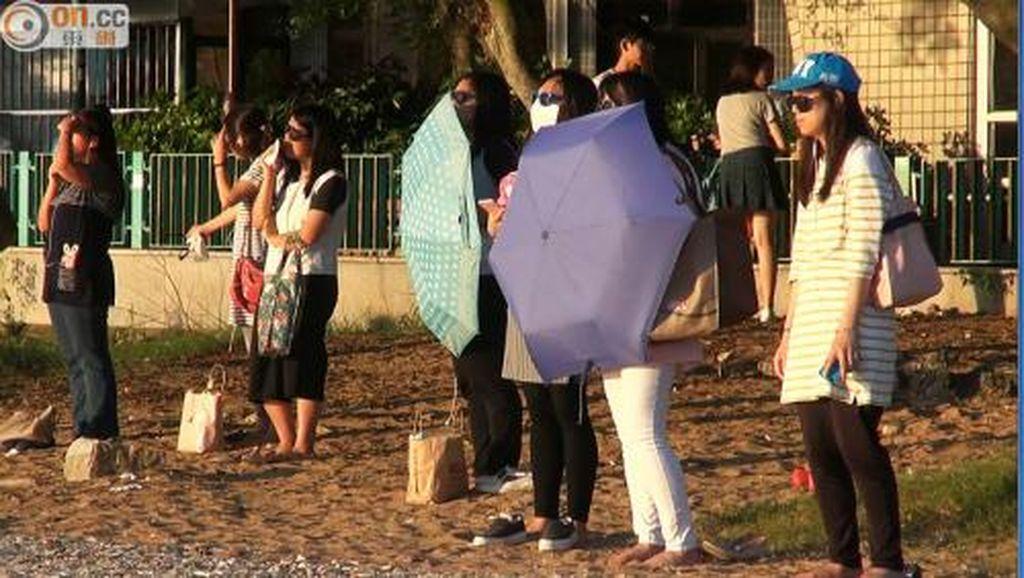 Memandang Matahari Jadi Tren Diet Baru di Hong Kong