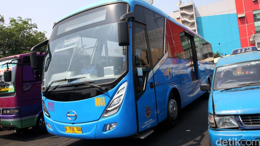 Transjabodetabek Rute Senayan-Mega Bekasi Masih Sepi Peminat