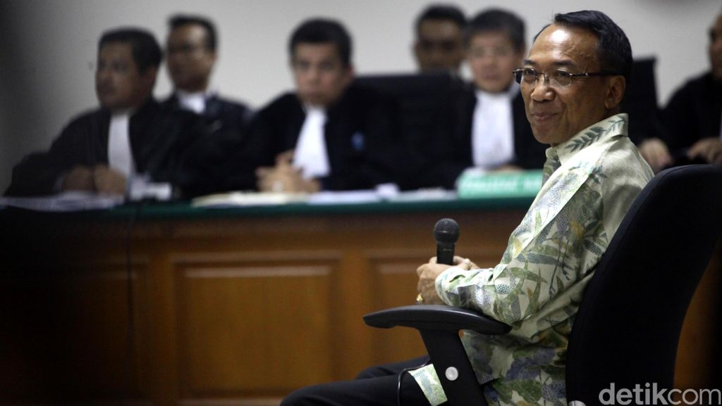 Jero Wacik Bantah Perintahkan Waryono Atur Penambahan DOM