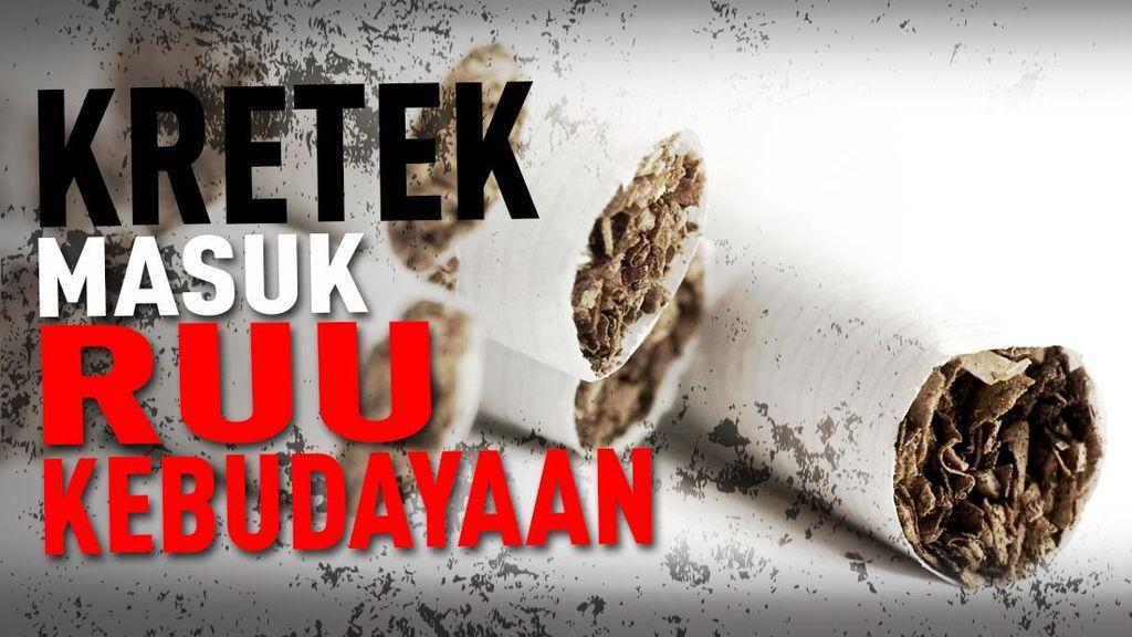 Kemenkes Surati Kemenkum HAM, Tolak Pasal Kretek di RUU Kebudayaan