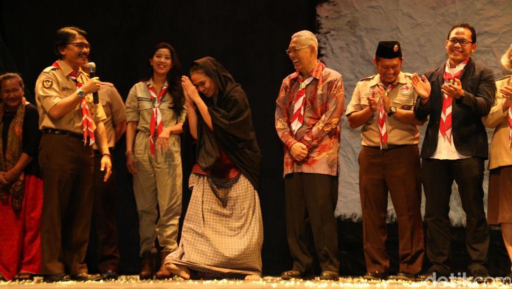 Kwarnas Pramuka Peringati Kesaktian Pancasila dengan Lestarikan Budaya