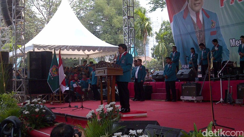 Beri Dukungan Buat Rhoma, Adhyaksa Dault Hadiri Deklarasi Partai Idaman