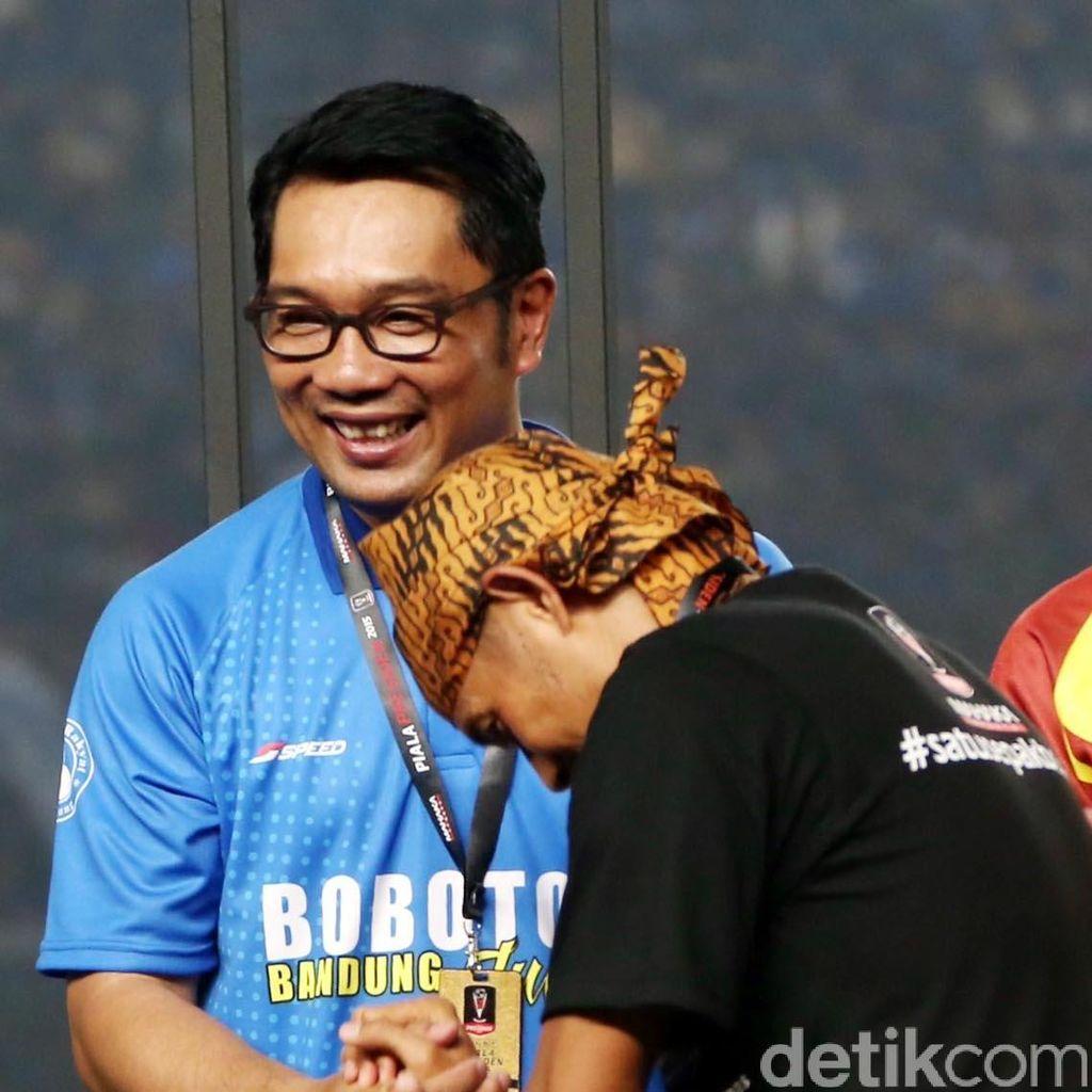 Ridwan Kamil Serahkan Gambar Diduga Pengeroyok Ricko, Siapa Dia?