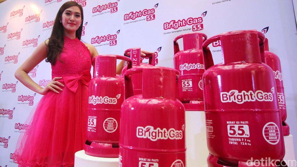 Pertamina Luncurkan Bright Gas 5,5 Kg di Makassar
