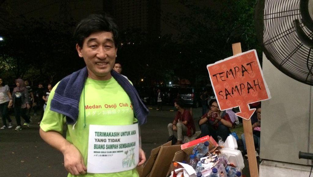 Jangan Buang Sampah Sembarangan, Malu Sama Orang Jepang Ini