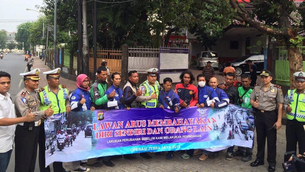 Kurangi Pelanggaran, Polisi Gelar Operasi Simpatik di Jabodetabek