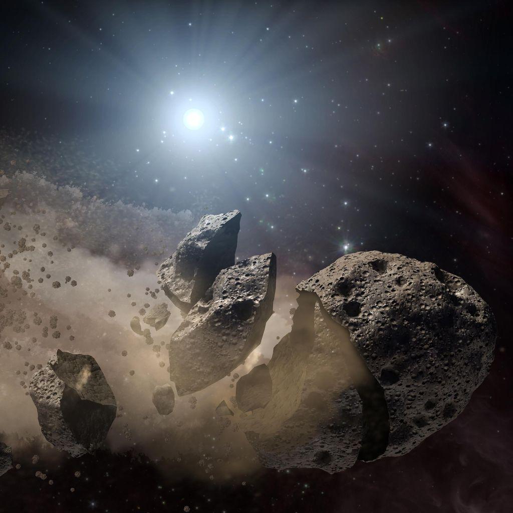 NASA: Asteroid Jumbo Dekati Bumi