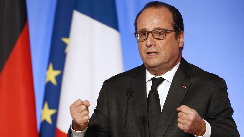 Soal Serangan Ziyed B, Hollande: Prancis Masih Jadi Target Teroris