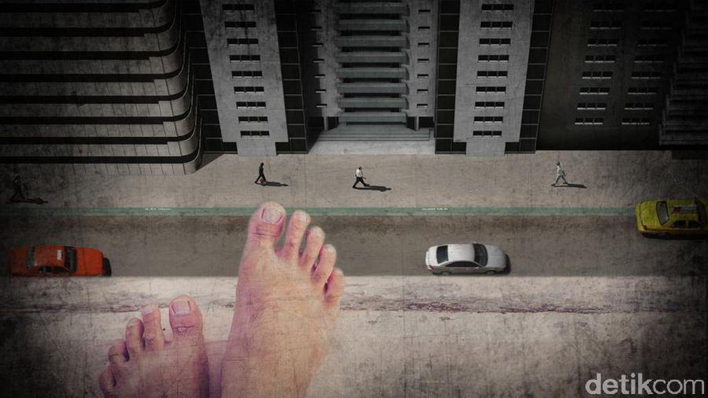 Masalah Keluarga, Motif Pria Loncat di Apartemen Mediterania