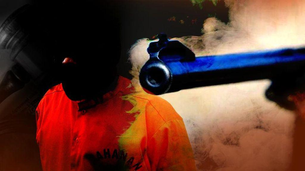 Gembong Perampok Minimarket di Kebon Jeruk Ditembak Mati Polisi