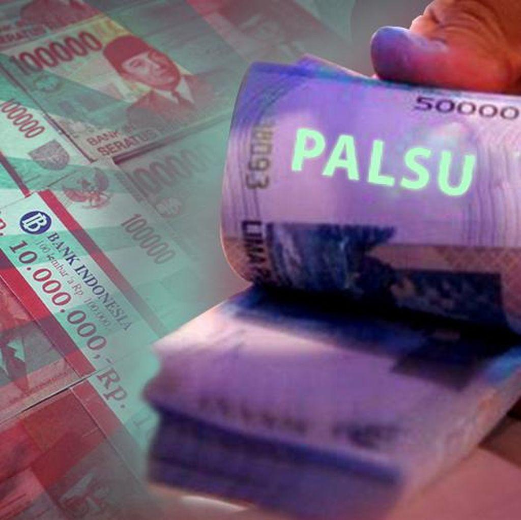 Polisi Tangkap Pemilik Uang Palsu di Prabumulih