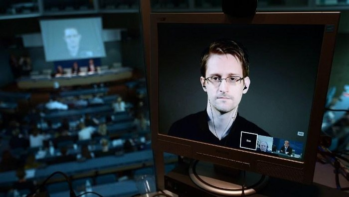 Edward Snowden. Foto: AFP PHOTO / FREDERICK FLORIN