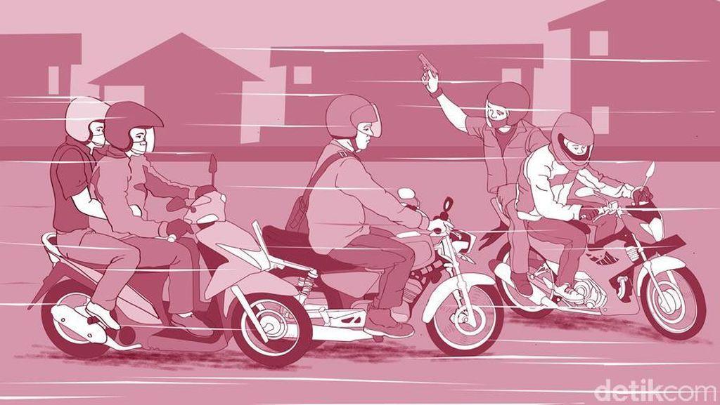 Begal Beraksi Lagi, Polresta Depok Gencarkan Razia di Titik Rawan