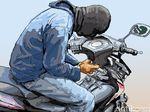 Pencuri Motor Ditangkap Usai Tabrak Tembok di Tangerang