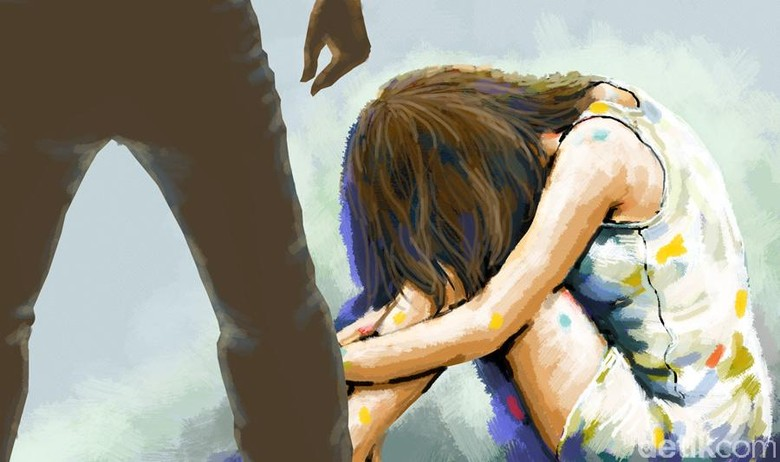 Sadis! Bapak di Rohul Tega Pukuli dan Perkosa Anak Kandungnya