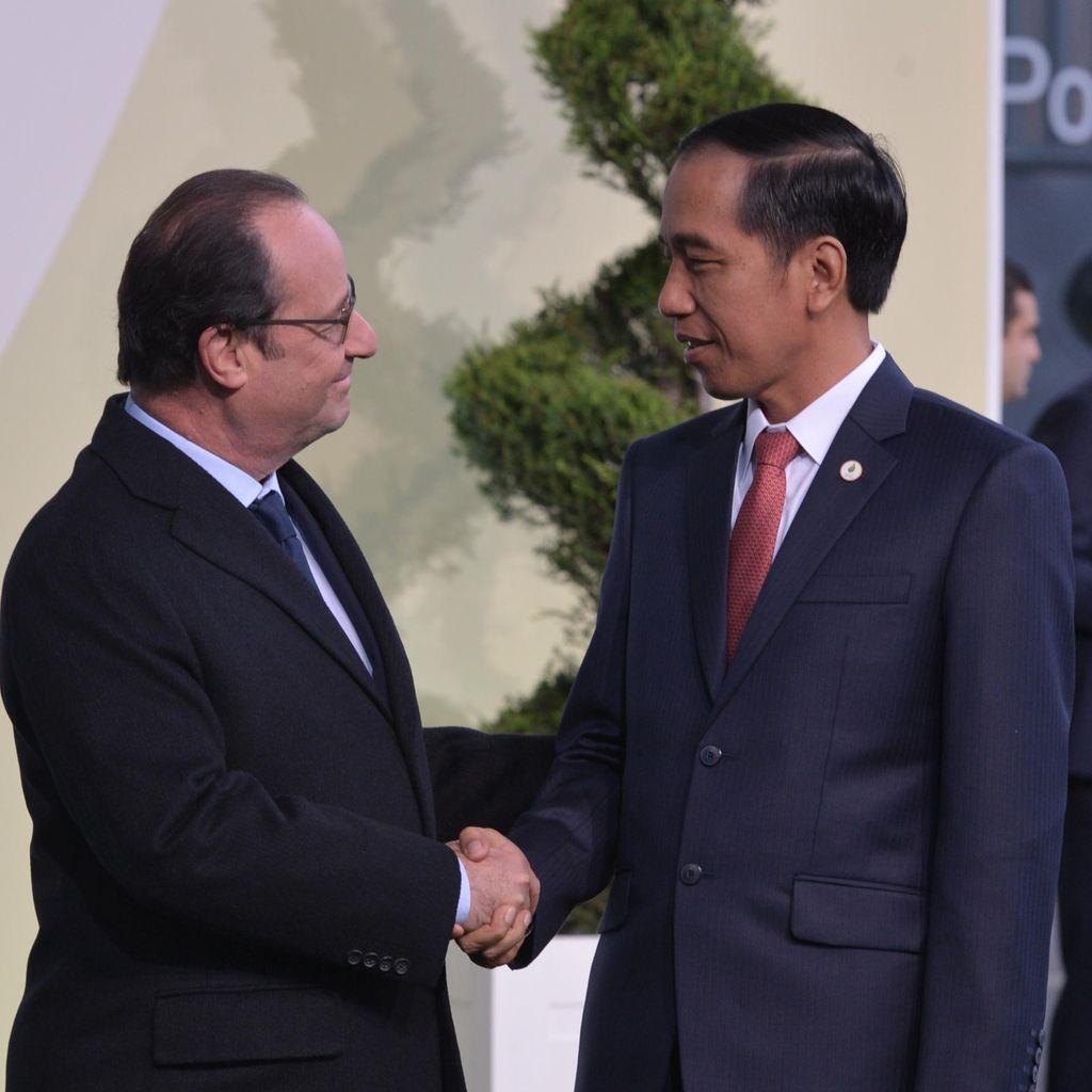 Jokowi akan Terima Kedatangan Presiden Prancis Hollande di Istana