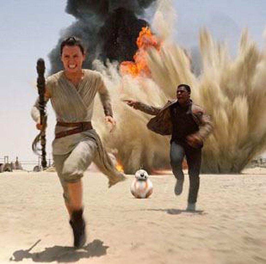 First Order Akan Merebut Galaksi di Awal Film The Last Jedi?
