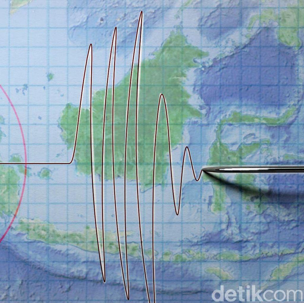 Gempa Bumi 5 SR Guncang Sulut, Tak Berpotensi Tsunami