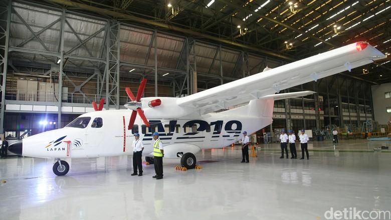 Pesawat N219 Terbang Perdana Mei Tahun Ini