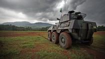 Panser Badak Karya Pindad Sukses Uji Tembak