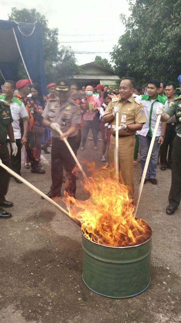 Polsek Ciracas Di Dibakar