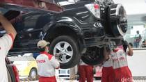 Toyota Beri Diskon 25% untuk Servis Mobil Mudik