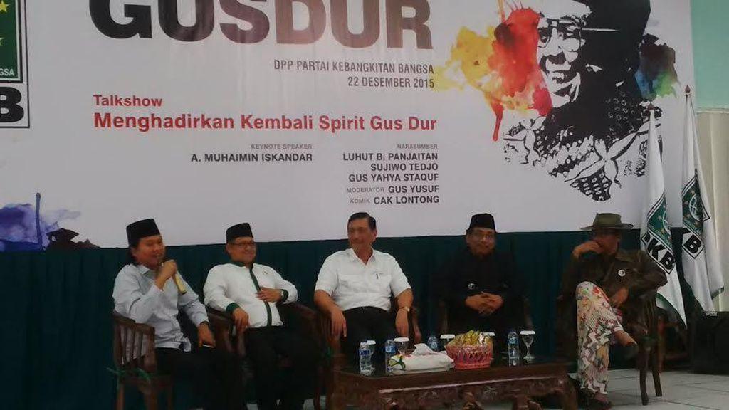 Zulkifli Hasan, Said Aqil dan Menteri Kabinet Kerja Hadiri Malam Haul Gus Dur