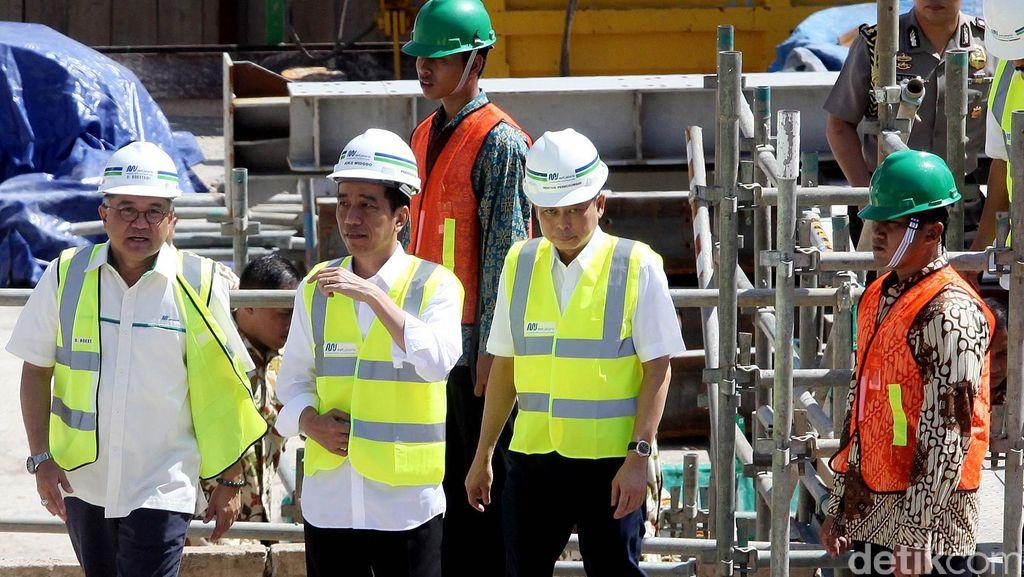 Cerita Jokowi Saat Memulai Proyek MRT: Belum Digali Sudah Ditolak