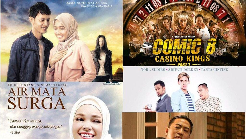 10 Film Indonesia Terlaris 2015