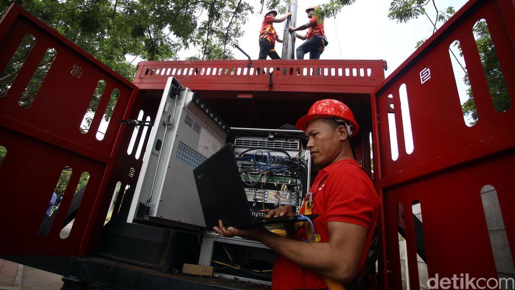Telkomsel Sebar 21 Mobile BTS di Timur Indonesia Sepanjang Ramadan