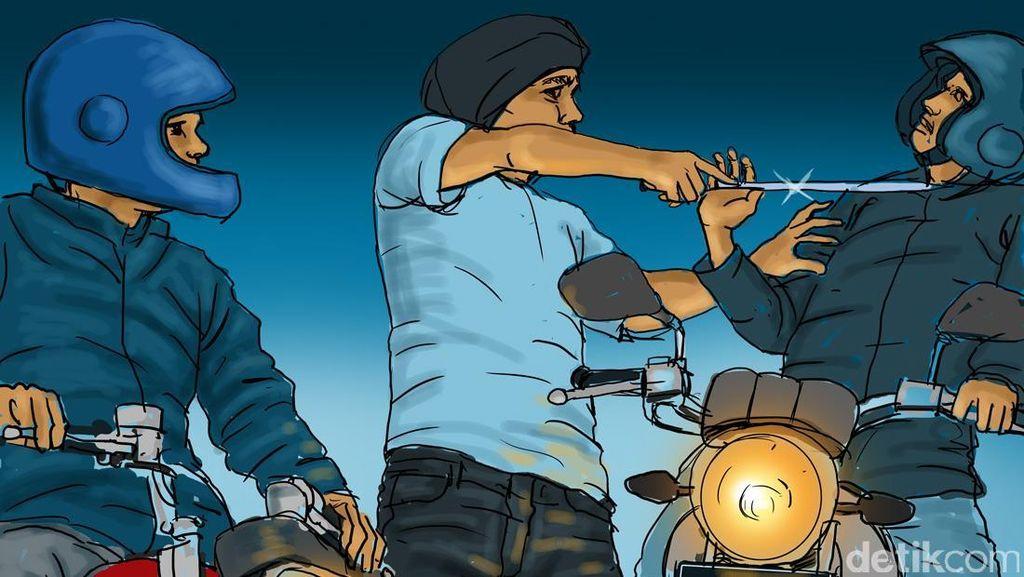 Anggota Korpaskhas Diserang Kawanan Begal di Indramayu
