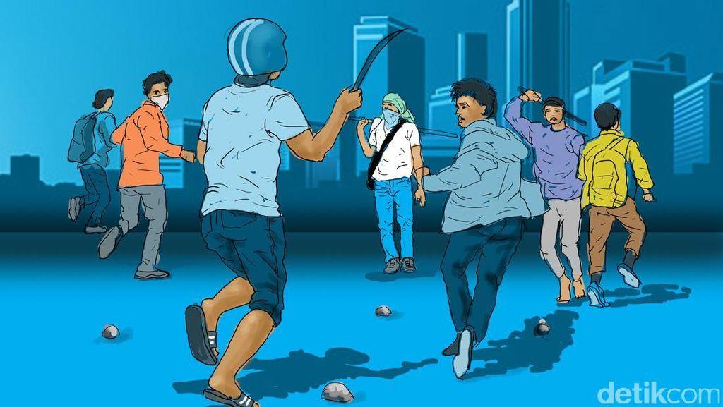 Polisi Amankan 25 Pemuda yang Hendak Tawuran di Bantargebang
