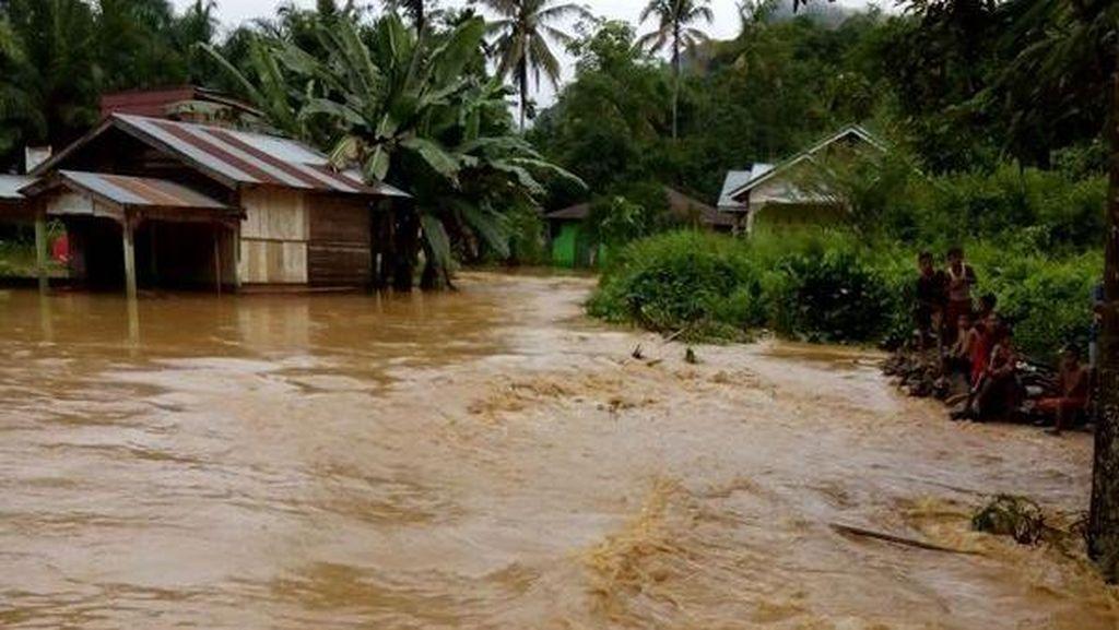 Korban Tewas Banjir di Padangsidimpuan Jadi 5 Orang