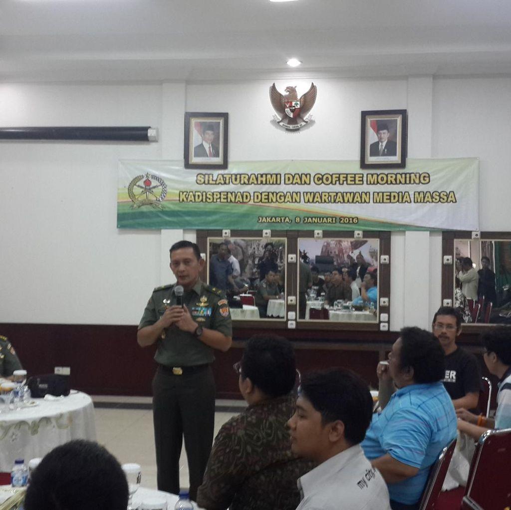 Kadispen TNI AD Brigjen Sabrar Jadi Kasdam Diponegoro