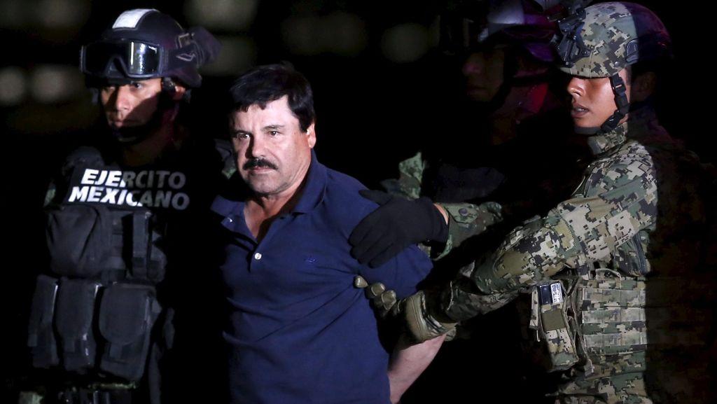 Sempat Enggan, Meksiko Akhirnya Ekstradisi Bos Kartel Narkoba ke AS