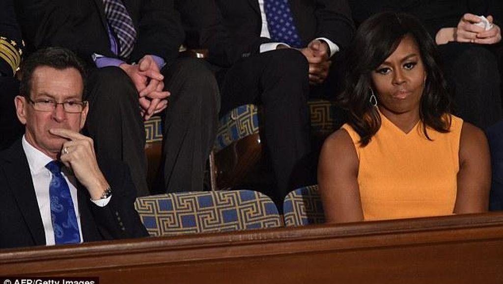 Kursi Kosong di Pidato Tahunan Terakhir Obama Ramai Dibahas