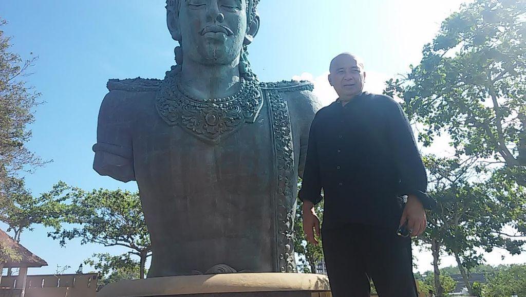 Patung Garuda Wisnu Kencana Nyoman Nuarta Segera Rampung