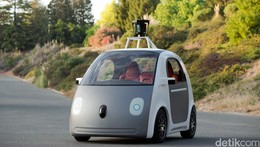 Google Kandangkan Mobil Tanpa Sopir yang Bentuknya Lucu