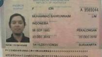 Ini Data Paspor Bahrun Naim Terduga Dalang Teror Thamrin