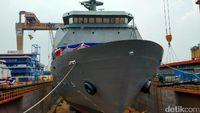 Dua Kapal Perang Buatan Surabaya Dijual Rp 1,1 Triliun ke Filipina