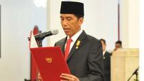 Komite Ekonomi dan Industri Pimpinan Soetrisno Bachir Resmi Dilantik Jokowi