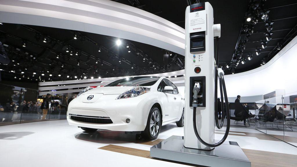 Saat Mobil Listrik Jadi Power Bank untuk Keadaan Darurat