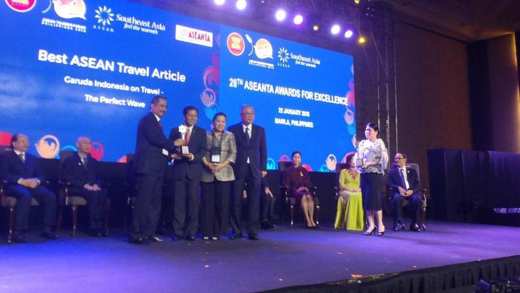 Garuda & Saung Mang Udjo Sabet Penghargaan ASEANTA 2016