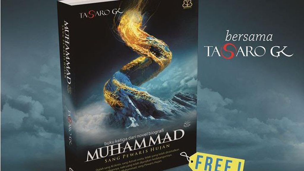 Buku Tasaro GK Muhammad 3: Sang Pewaris Hujan Diterbitkan di Bandung