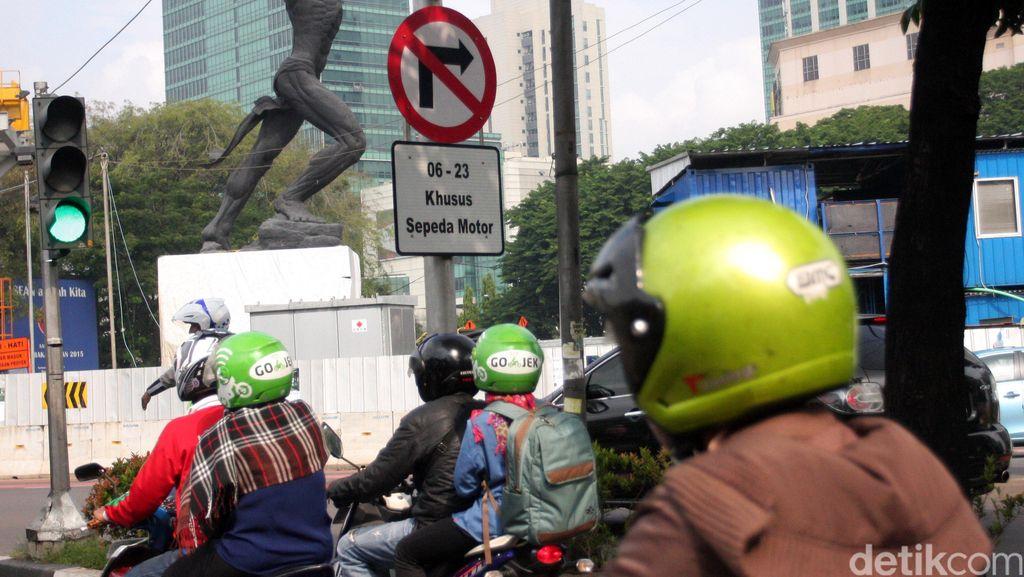 Polisi Minta Demo 5.000 Riders yang Tolak Pembatasan Motor Tertib