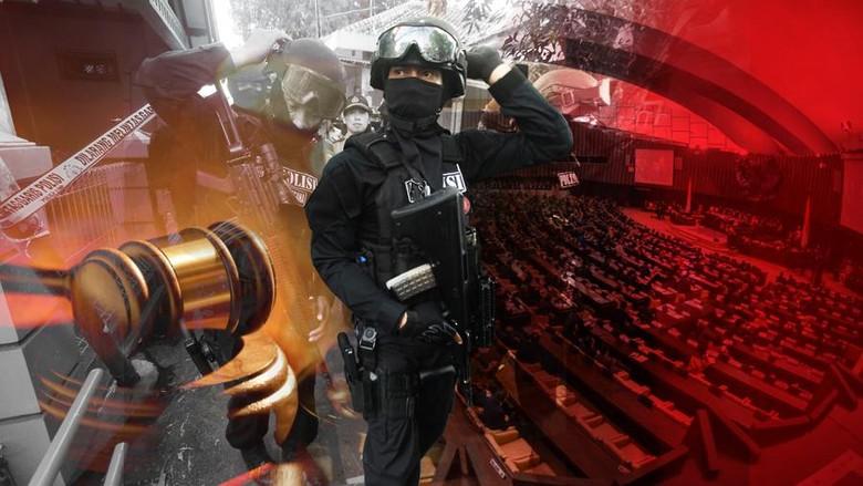 Panja RUU Terorisme Bakal Bedah Setiap Pasal, Ini Daftar Anggotanya