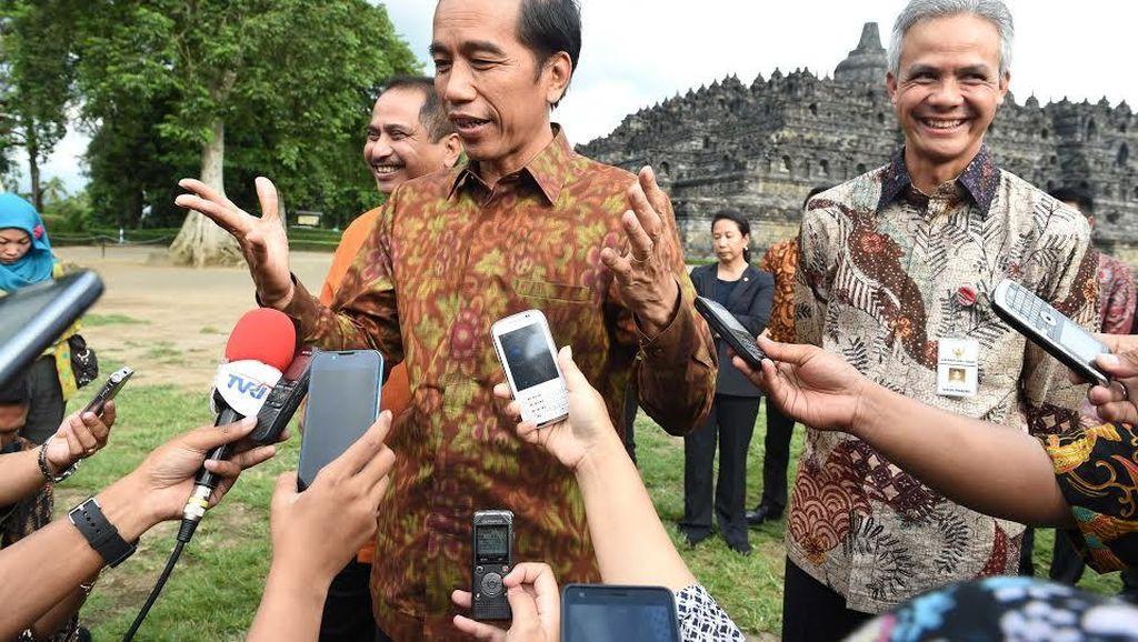 Jokowi Bentuk Badan Otoritas Pariwisata Borobudur