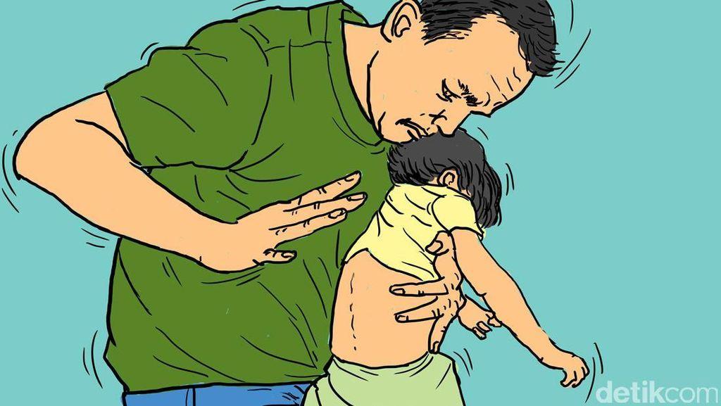 Istri Telat Sajikan Makan, Taruna Lempar Bayinya ke Arah Tungku