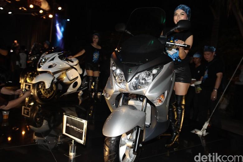 Suzuki Tak Menampik Kabar Pesaing NMAX